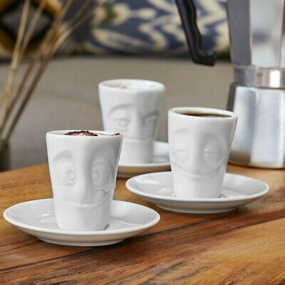 coffee expression Tassen Emotion Cups c oh please happy grinning kissing