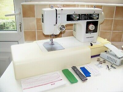 Sought After Janome Newhome 632 Heavy Duty Sewing Machine,Case,Expertly Serviced
