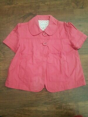 Girls Next Cute Summer Pink Crop Jacket Age 11-12 Yrs