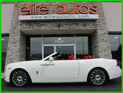 2018 Rolls-Royce Dawn DAWN $400k MSRP only 1k miles 2018 Rolls-Royce Dawn LOADED Convertible Red Interior BESPOKE AUDIO Turbo V12