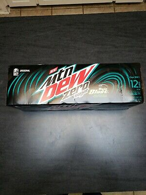 Baja Blast Mountain Dew Zero 12 pack