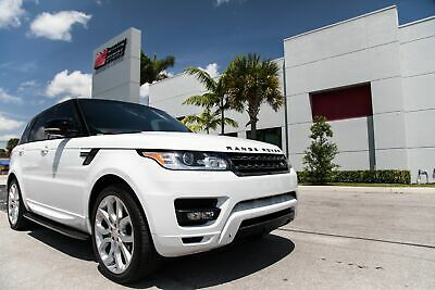 2015 Land Rover Range Rover Sport Supercharged 2015 RANGE ROVER SPORT SUPERCHARGED - DYNAMIC PACKAGE - ONE OWNER FL CAR