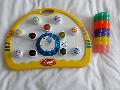 Sensory Autism Cogs Board With Sounds & Lights Kids Playskool Turning Cogs Game