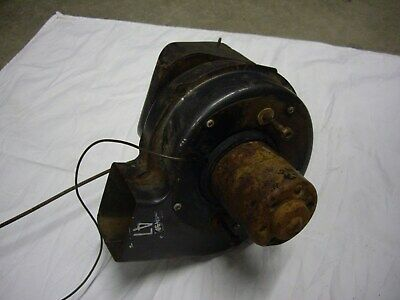 1956 chev belair deluxe heater air inlet/blower motor assembly
