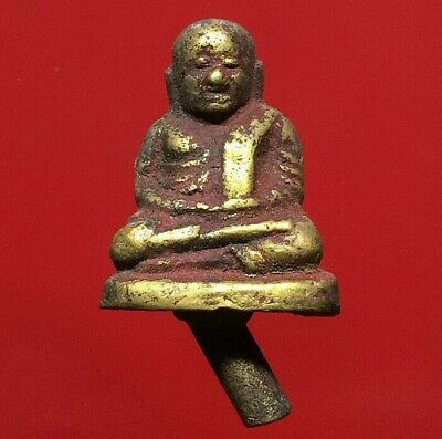 thai buddha amulet old Statue antique LP Ngern maestro Buddha's grace
