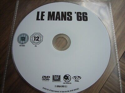 Dvd Le Mans '66 - Not Just For Petrol Heads - Disc Only