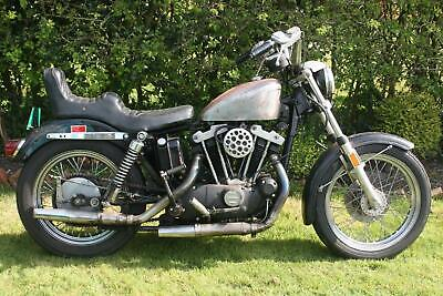 Harley Davidson Xlch 1000 Iron Head Spares Repair Project Flat Tracker Running
