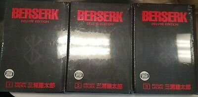 Berserk Hardcover Deluxe Edition Volumes 1-4 BRAND NEW SEALED!! English!