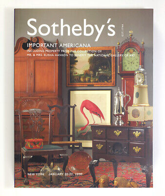Sotheby's Auction Catalog Important Americana January 2006 New York 484 Pages