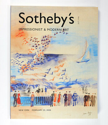 Sotheby's Auction Catalog Impressionist & Modern Art New York 2006 Dufy & More