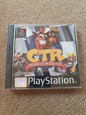 CTR crash team racing  ps1 CASE ONLY