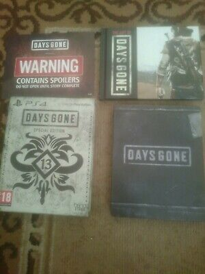 Days Gone Special Edition Game (Sony PlayStation 4, 2019) PS4
