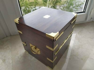 large 8 day Marine ship chronometer Box European (England)