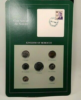 Coin Sets of all Nations Kingdom of Morocco - w/card -N106