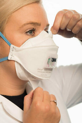 3M Aura 9322 Best Respirator with valve for Cycling, Running and Travelling