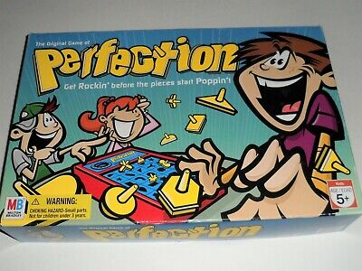 The Original Game of PERFECTION Milton Bradley 100% Complete Tested & Works