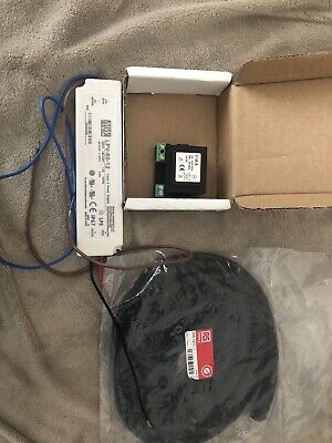 Job lot . Qty - 3 Led driver MW LPV-60-12, 12v transformer Dim Rail