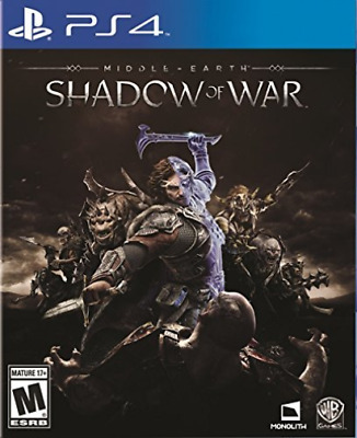 Ps4 Action-Middle Earth:shadow Of War (Us Import) Ps4 New