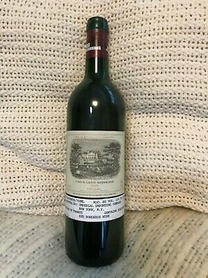 Chateau Lafite Rothschild 1995 Wine Bottle Empty
