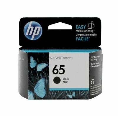 HP 65 (N9K02AN) Black Ink Cartridge (BRAND NEW) Expires March 2021!!