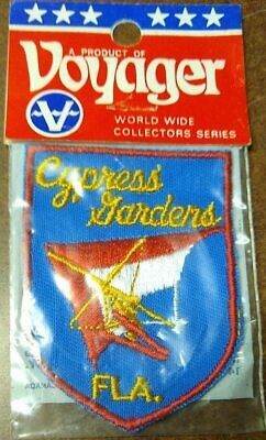 Jacket Patch - Cypress Gardens, Florida - Voyager - New In Package (NIP)
