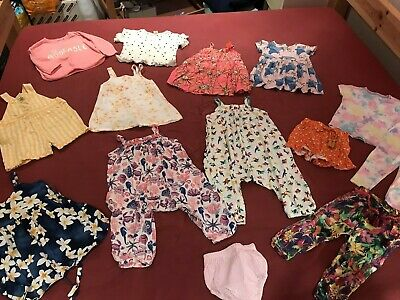 Baby Girls 12-18 Month Brigh Summer Clothes Outfit Bundle - NEXT, Tu