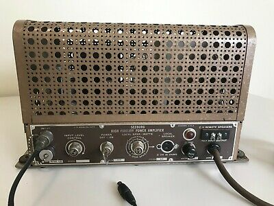 Seeburg Jukebox HFAI-L6 Amplifier Very Nice Condition - Tested and Works