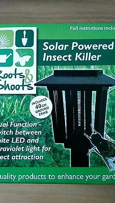 Roots & Shoots Solar Powered Insect Killer