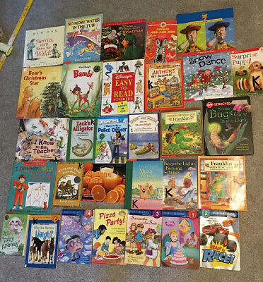 Lot Of 30 Kids Children's Books