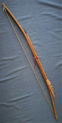 Antique Native American Apache Indian Bow & Arrow Reservation Period New Mexico