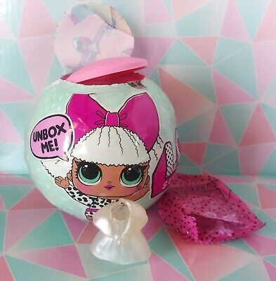 LOL Surprise Series 1 Leading Baby BB New mostly sealed Diva Ball doll