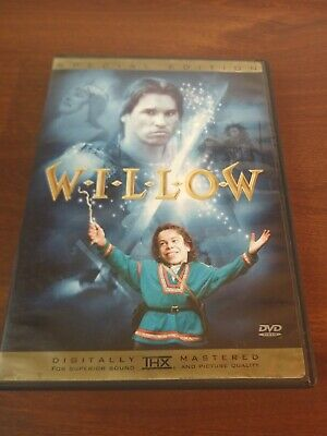 Willow (DVD, 2003, Special Edition) Val Kilmer Ron Howard George Lucas vg+