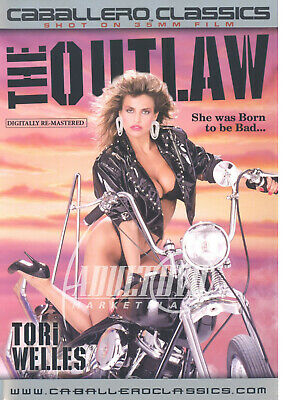 autographed TORI WELLES THE OUTLAW DVD COVER w/ PIC PROOF!