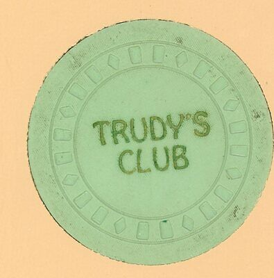 Trudys Club Unknown chip from some illegal casino