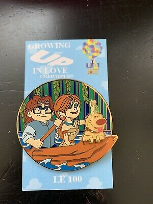DISNEY PIN FANTASY PIXAR CLASSIC UP  CARL & ELLIE Pocahontas Mashup