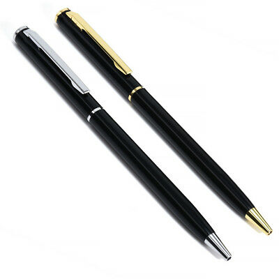 Stainless Steel Ballpoint Pen Ball Point Writing Pen Student Stationery Gift
