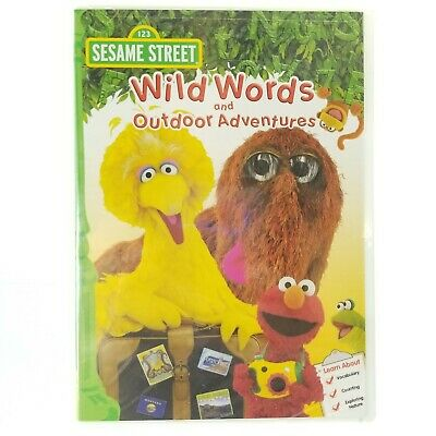 NEW! Sesame Street: Wild Words and Outdoor Adventures [DVD, 2011] FACTORY SEALED