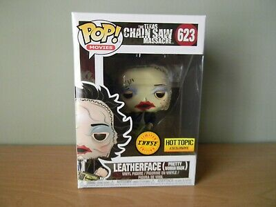 Funko Pop! Leatherface Chase Hot Topic Exclusive #623 Soft Protector