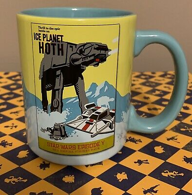 Authentic Disney Parks Star Wars The Empire Strikes Back Ice Planet Hoth Mug
