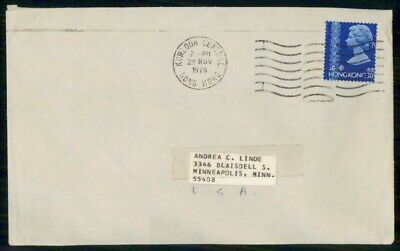 Mayfairstamps Hong Kong 1978 Kowloon Central to Minneapolis MN Cover wwe91785