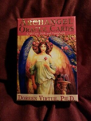 Archangel Oracle Cards Doreen Virtue 45 Card Deck & Guidebook