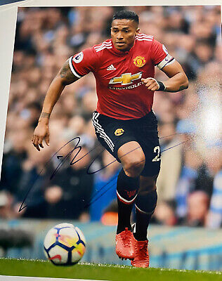 Antonio Valencia Autograph, With Proof, Manchester United Signed Photo.