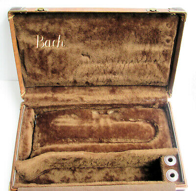Vintage Bach Cornet (I think) Case ~ check its measurements before you buy!