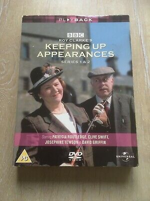 Keeping Up Appearances: Series 1 & 2 - Complete (DVD, 2003, Box Set) 3 Discs PAL