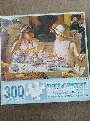 BITS AND PIECES Large Piece Jigsaw Puzzle 300 pieces