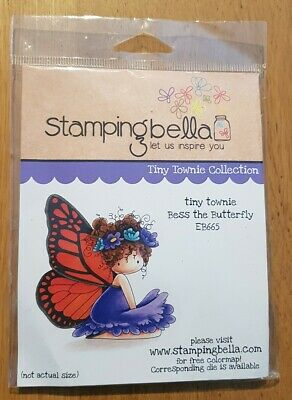 Stamping Bella rubber stamp - Bess the Butterfly EB665