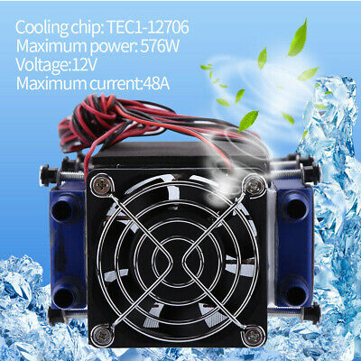 8-Chip Accessories Home Device DC12V 576W Tool Thermoelectric Cooler Air Cooling