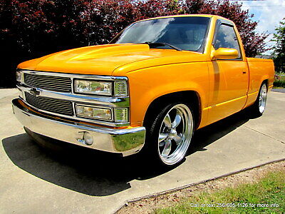 1989 Chevrolet Silverado 1500 HOUSE OF KOLORS SPANISH GOLD PROFESSIONAL PAINT !! CUSTOM PAINT ! LOWERED !! LOW MILES !! AMAZING TRUCK !!!