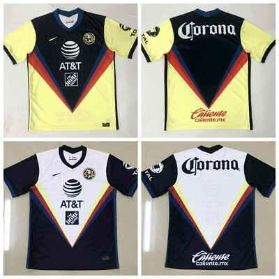 NEW 2020-2021 Club America Home/Away Soccer Jersey Short sleeve  size S-2XL