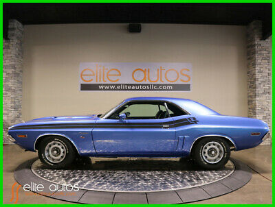 1971 Dodge Challenger Challenger RT 383 ci V8 AUTOMATIC Numbers Matching car 1971 Dodge Challenger R/T RT 383 V8 GB5 Blue NUMBERS MATCHING Full Restoration